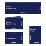 Size Chart - Business Cards