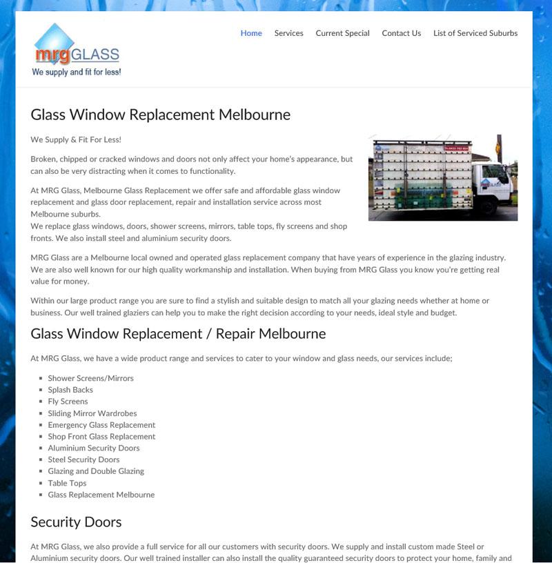 MRGGlass - Home