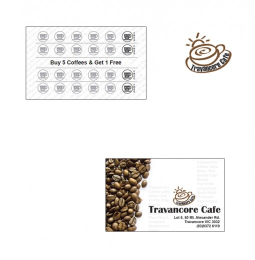 Coffee Card and Logo