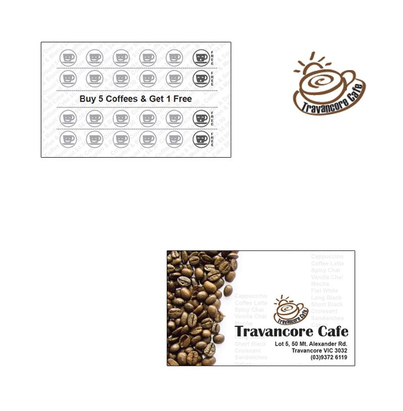 Coffee Card and Logo