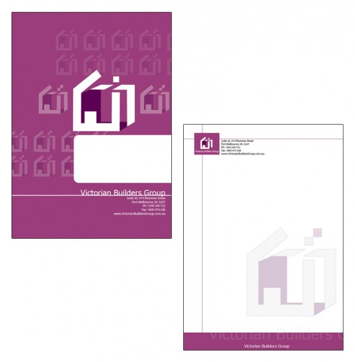 Presentation Cover and Letterhead