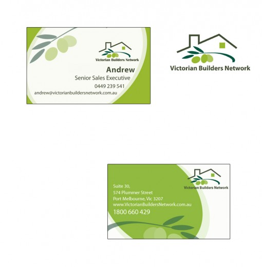 VBN Business Card and Logo