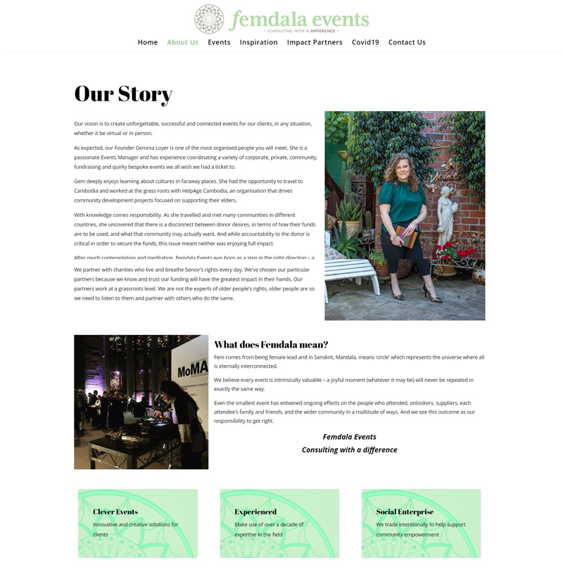 Femdala Events - About Us